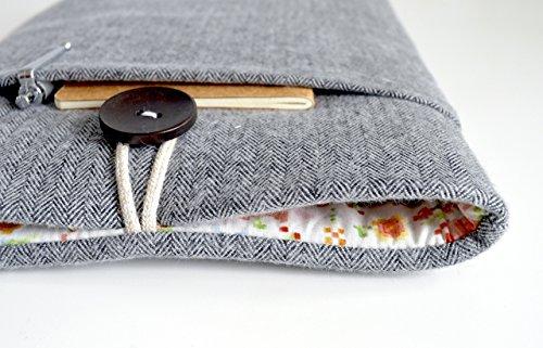 herringbone-floral-kindle-sleeve-amazon-fire-case-kindle-paperwhite-kindle-voyage-custom-size