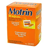 UPC 300450481528 product image for Motrin IB Ibuprofen Pain Relief Caplets Dipenser Packets 50X2 (PRODUCT ARRIVES I | upcitemdb.com