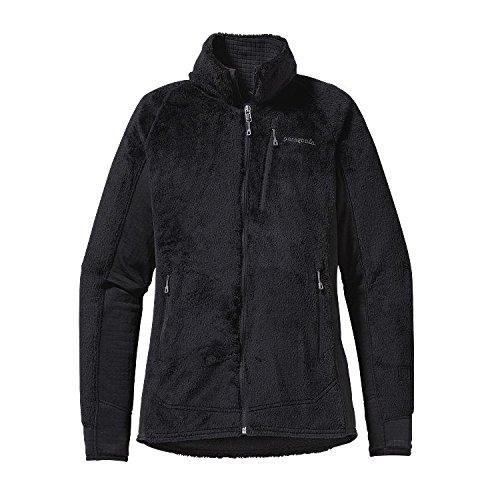 Patagonia - Felpa in pile per uomini, modello R2, colore: nero, taglia: M