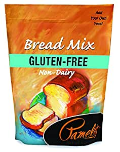 Pamela's Products Gluten-free Bread Mix, 4-Pound Bags (Pack of 3)