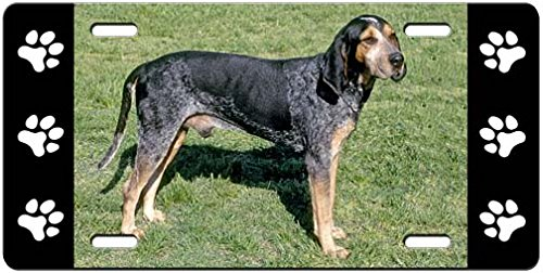 blue-tick-coonhound-license-plate