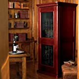 Le Cache Euro 1400 Wine Cabinet - Classic Cherry finish