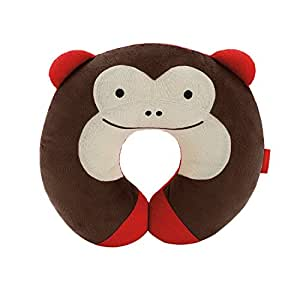 Amazon.com : Collager Animal Shaped Neck Pillow Baby Pillow (Brown Monkey) : Baby