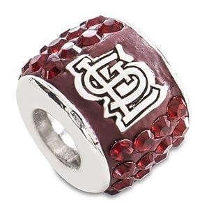 MLB St. Louis Cardinals Premier Bead by Logo Art