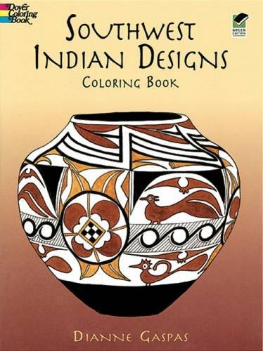 Southwest Indian Designs Coloring B (Dover Design Coloring Books)