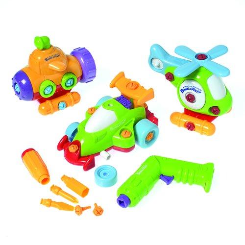 E-Z Build & Play Set For Kids - 60 Piece