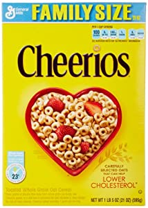 Cheerios Cereal, 21 Oz