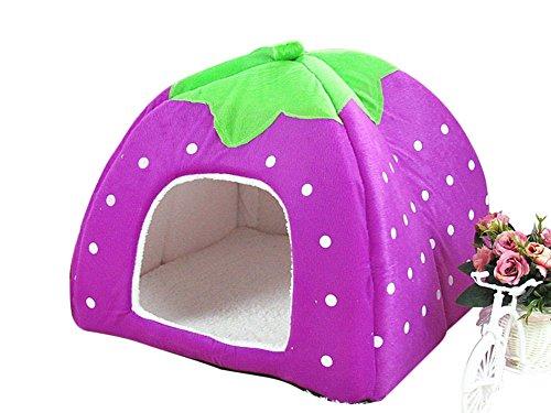 freerun-cute-soft-strawberry-small-cotton-soft-dog-cat-pet-bed-house-purple-s