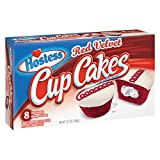 Hostess Cup Cakes [One 8 Count Package] (Red Velvet)