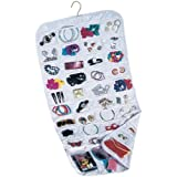 Household Essentials 01943 Ultra 80-Pocket Hanging Jewelry Organizer