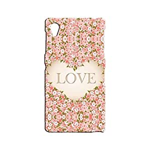 BLUEDIO Designer 3D Printed Back case cover for Sony Xperia Z1 - G5153
