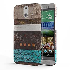 Koveru Designer Printed Protective Snap-On Durable Plastic Back Shell Case Cover for HTC One E8 - Wild Garden