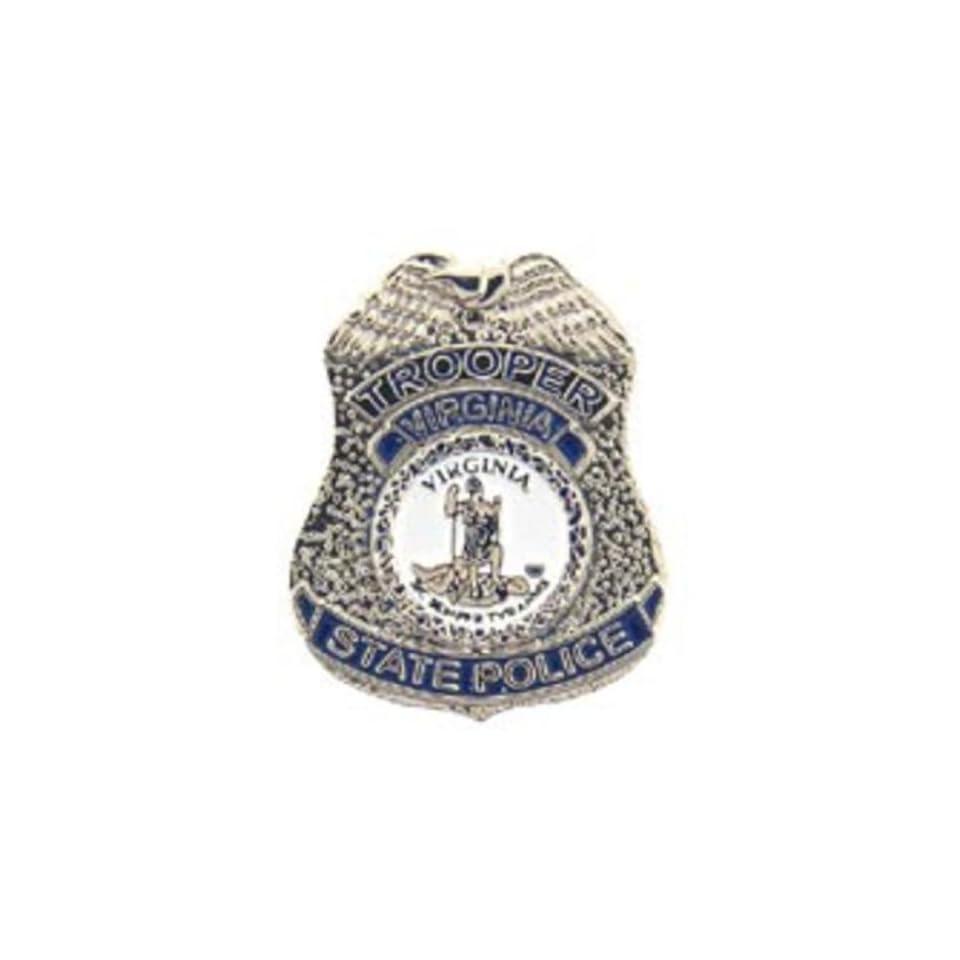 Virginia State Police Badge Pin 1