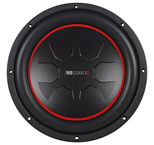 "Mb Quart Rwm254 10"" 700 Watt Peak/350W Rms Dual 4-Ohm Voice Coil Car Subwoofer With Uv Resistant Butyl Rubber Surround"