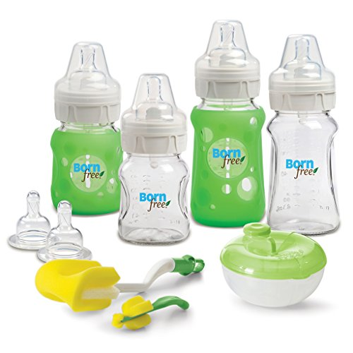 Cheapest Price! Born Free BPA-Free Premium Glass Bottle Gift Set