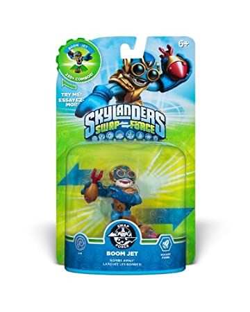 Skylanders SWAP Force Boom Jet Character (SWAP-able)
