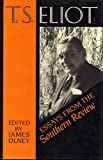 T.S. Eliot: Essays from the Southern Review (0198185758) by Eliot, T. S.