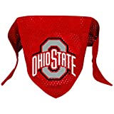 NCAA Ohio State Buckeyes Pet Bandana, Team Color, Large