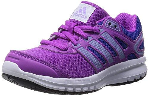adidas Performance Duramo 6, Unisex-Kinder Laufschuhe, Violett (Flash Pink S15/Glow Purple S14/Night Flash S15), 34 EU (2 Kinder UK)