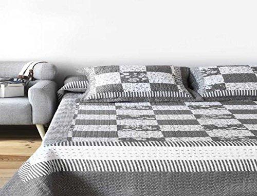 Colcha Bouti 9423 para cama de 135/150 cm.