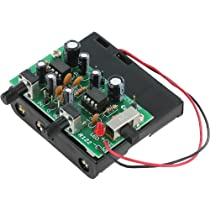 CanaKit CK122 - Mini iPod / iPhone / MP3 Player Stereo Amplifier (Electronic Kit - Requires Assembly)