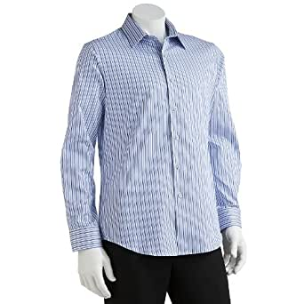 apt 9 modern fit striped woven casual button down shirt
