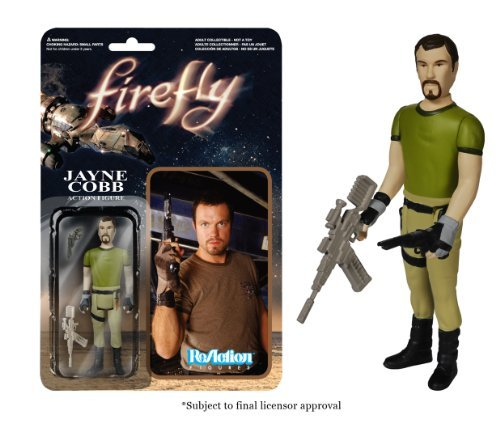 REACTION FIREFLY JAYNE COBB 3 3/4 INCH RETRO ACTION FIGURE FUNKO by Unknown