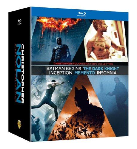 Christopher Nolan Director's Collection (Memento / Insomnia / Batman Begins / The Dark Knight / Inception) [Blu-ray]