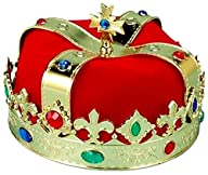 Kings Jeweled Crown with Red Liner Co…