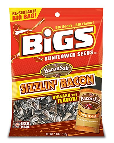 Bigs Sizzlin' Bacon Sunflower Seeds (5.35Oz)