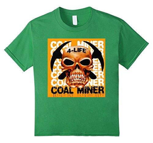 [Kids COAL MINER - Halloween Shirts 8 Grass] (Coal Miner Costume)