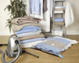Large Vacuum Clothes Storage Bag - 90x130cm - Set of 1 by H&L Russel