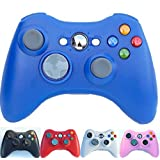 PomeMall Xbox 360 2.4G Wireless Controller (Blue)
