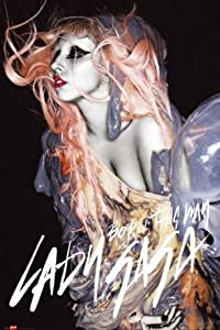 "1art1 54597 Poster Lady Gaga ""Born This Way"" 91 x 61 cm"