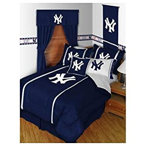 New York Yankees NY Bed In A Bag Set by Sports Coverage