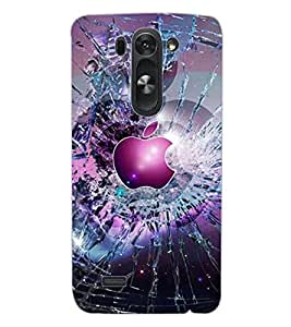 ColourCraft Abstract image Design Back Case Cover for LG D722 K