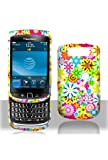 BlackBerry Torch 9800 Graphic Rubberized Shield Hard Case – Spring Garden