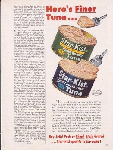 star-kist-solid-pack-tuna-1949-antique-food-home-vintage-antique-advertisement