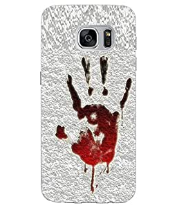 Make My Print Vintage Printed Yellow Soft Silicon Back Cover For Samsung Galaxy S7