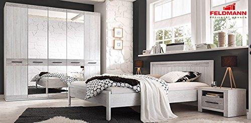 Schlafzimmer komplett 4-teilig 65148 canyon arctic pine hell / dunkel