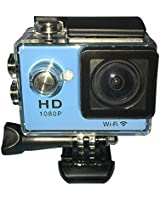 """Andoer WiFi plongée 30M étanche Action Sport caméra DV 12MP 1080P 1.5 """"140 ° Grand Angle avec batterie et accessoires USB Câble"""