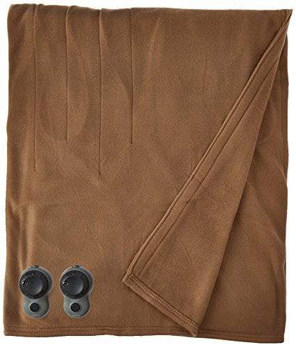 Best Prices! Sunbeam Quilted Fleece Heated Blanket with Easyset Pro Controller, Twin, Acorn