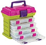 Creative Options 1354-87 Grab N Go Rack System with 4 No.2-3500 Pro-Latch Utility Organizers