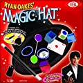 POOF-Slinky - Ideal Ryan Oakes 75-Trick Collapsible Magic Hat Set with Magic Wand and Secrets of Amazing Magic Tricks 35-Page Booklet, 0C2719BL by Ideal