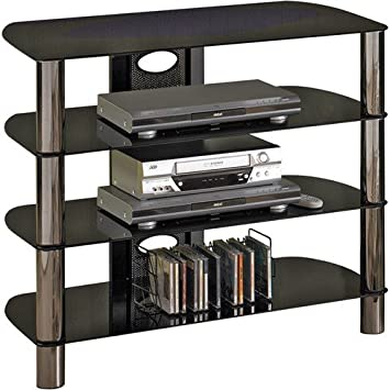 TechCraft BEL320B 32-Inch Wide Flat Panel TV Stand - Black