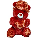 Skynet Heart And Cap Teddy Bear (Red)