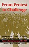 img - for From Protest to Challenge, Volume 5: A Documentary History of African Politics in South Africa, 1882-1990: Nadir and Resurgence, 1964-1979 book / textbook / text book
