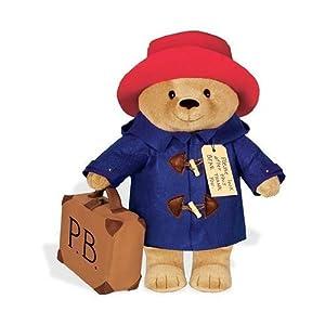 "Paddington Bear 16"" Soft Toy With Suitcase $46.99 51oo-zB1KML._SL500_AA300_"