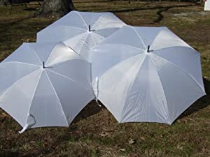 Wedding Umbrella White Jumbo 68 Inch Golf Umbrella from Ok Umbrella