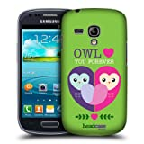 Head Case Owl Love You Lovey Dovey Mash Case For Samsung Galaxy S III mini I8190